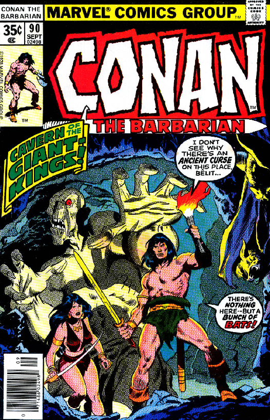 REVIEW: Conan, Belit & Zula in the Cavern of Giant Kings